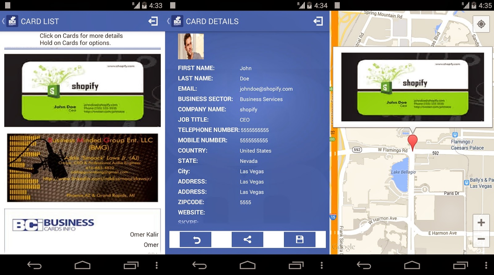 Magnificent Best Android Business Card Scanner Ideas - Business Card ...