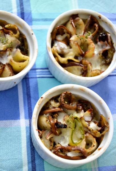 involtini di melanzane e zucchine con bufala e origano