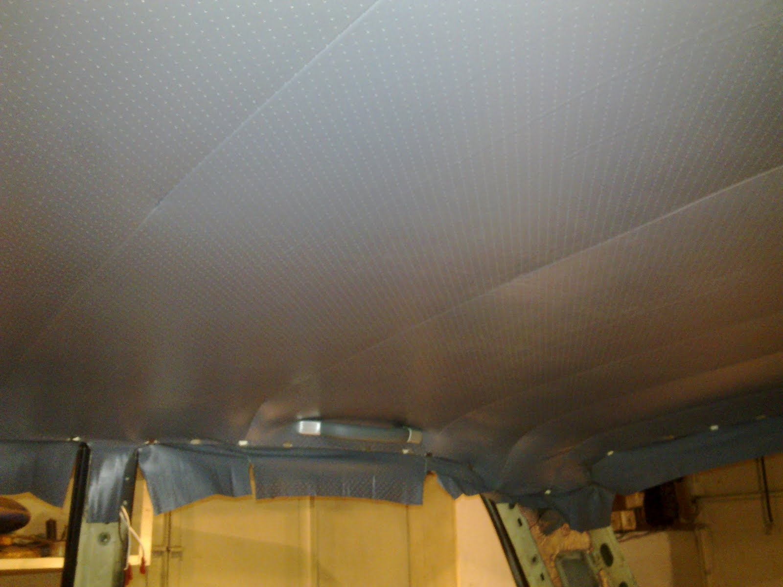 Замена обшивки потолка ВАЗ классики О Ладе