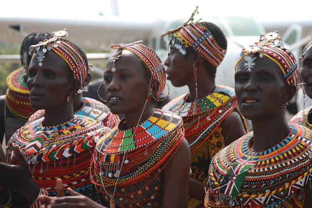African Women Jewelry