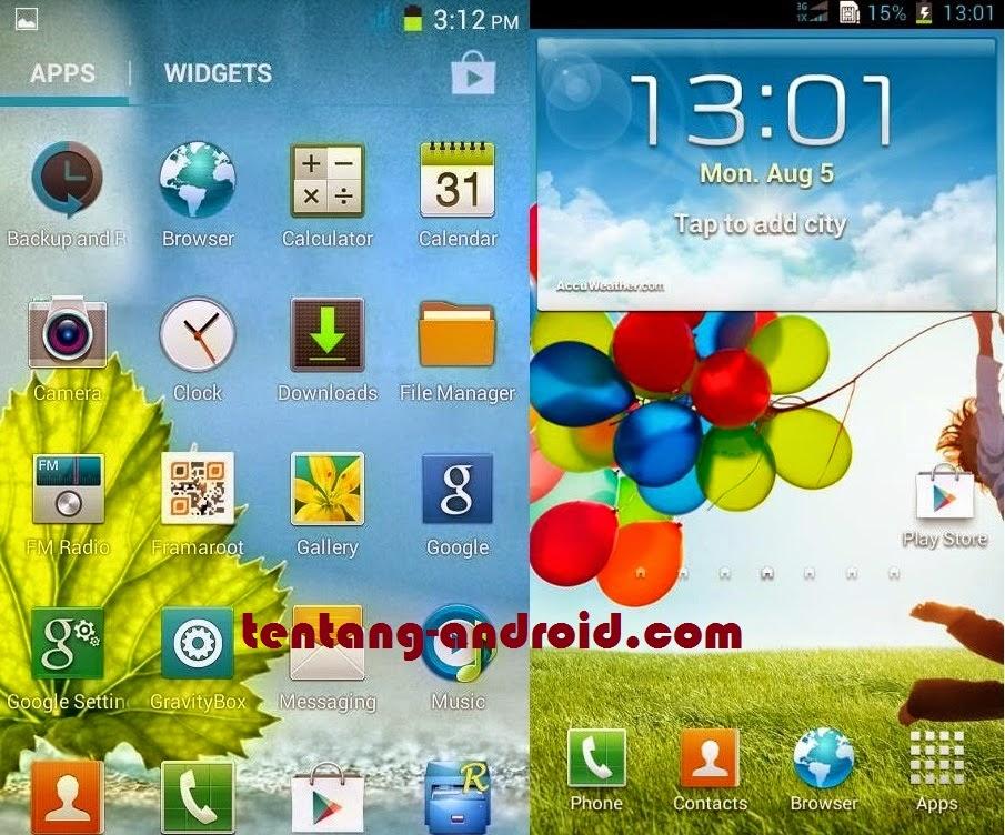 Cara Custom Roms ADVAN S5E Ke Samsung Galaxy S4