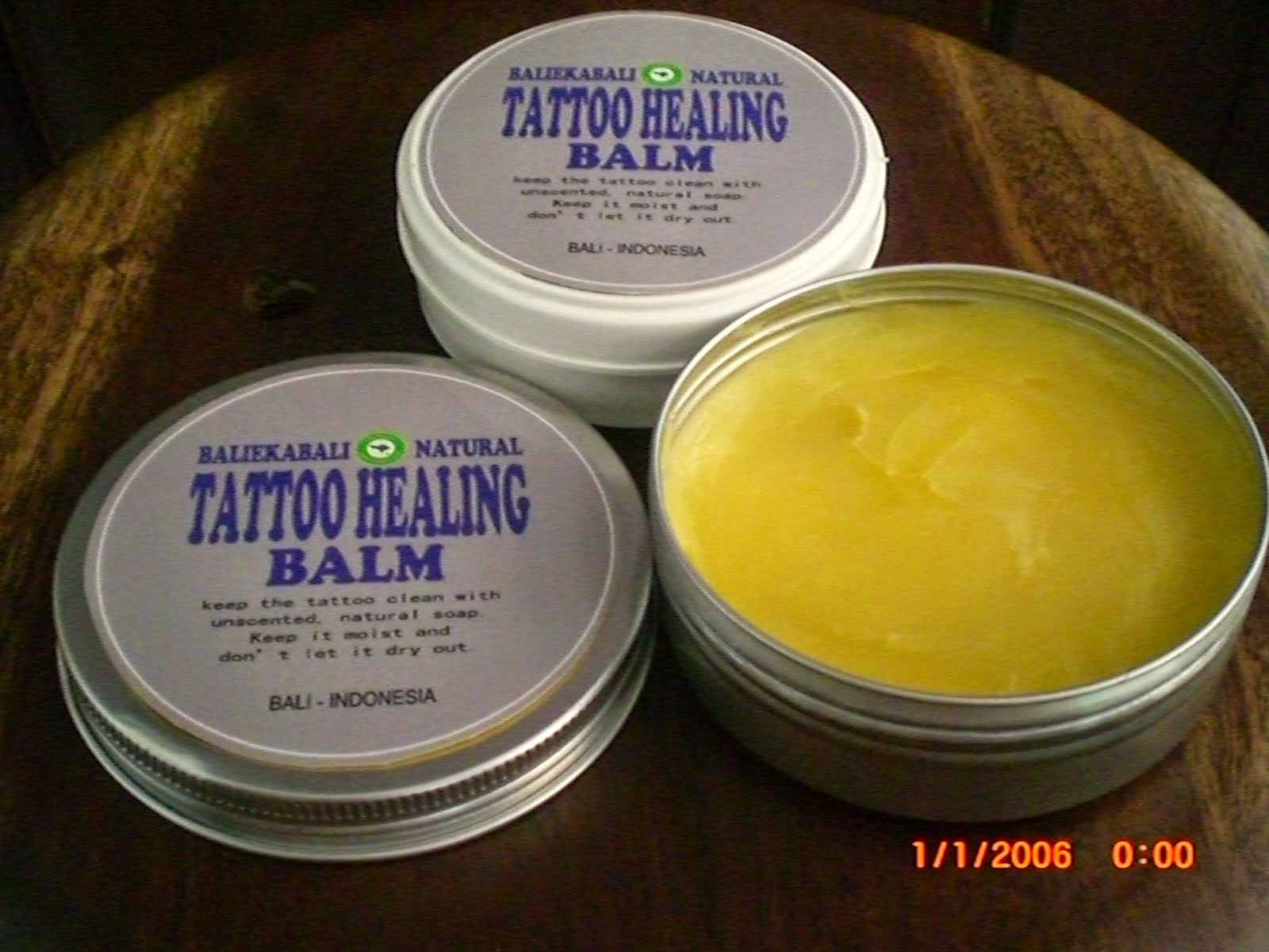 TATTOO HEALING BALM NATURAL BALI SUPPLIER