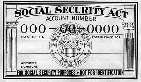 History Lesson on Your Social Security Card
