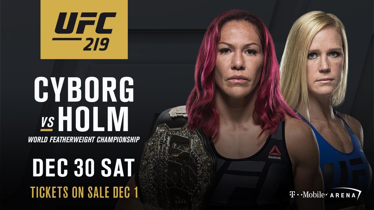 Watch UFC 219: Cyborg vs. Holm Online Free Putlocker