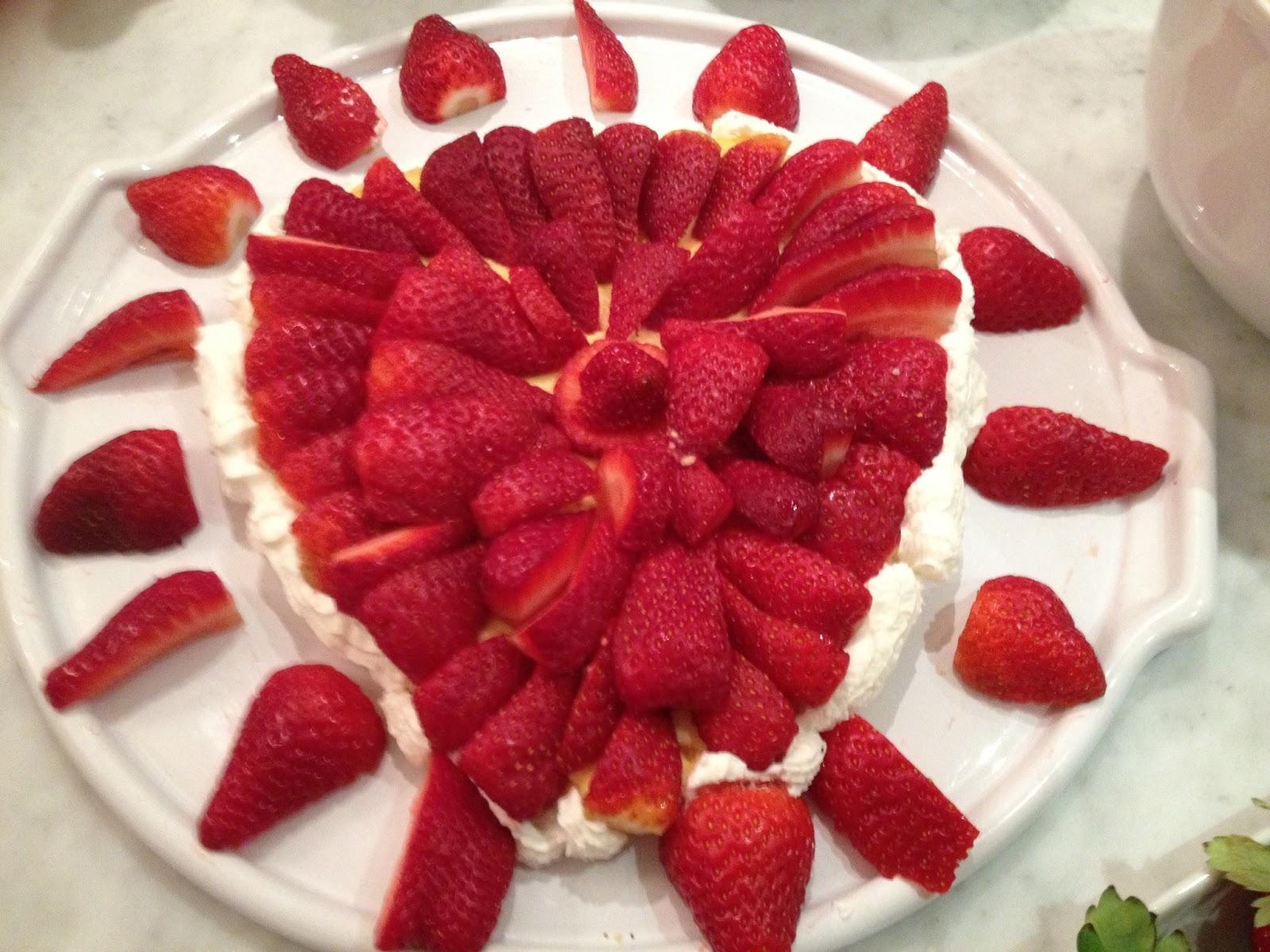 cucina con amici: Crostata ricotta e fragole di ... Verdiana