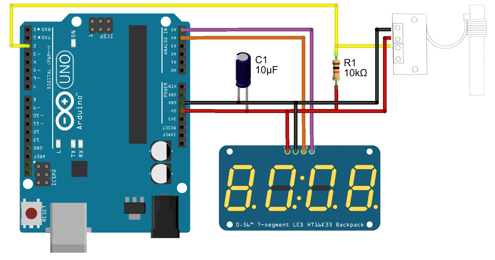 Clock Projects Archives - ATMega32 AVR