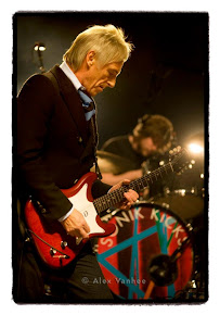 Paul Weller in Brussels, double review.