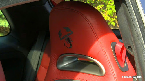 Fiat 500 Abarth Scorpion Seats