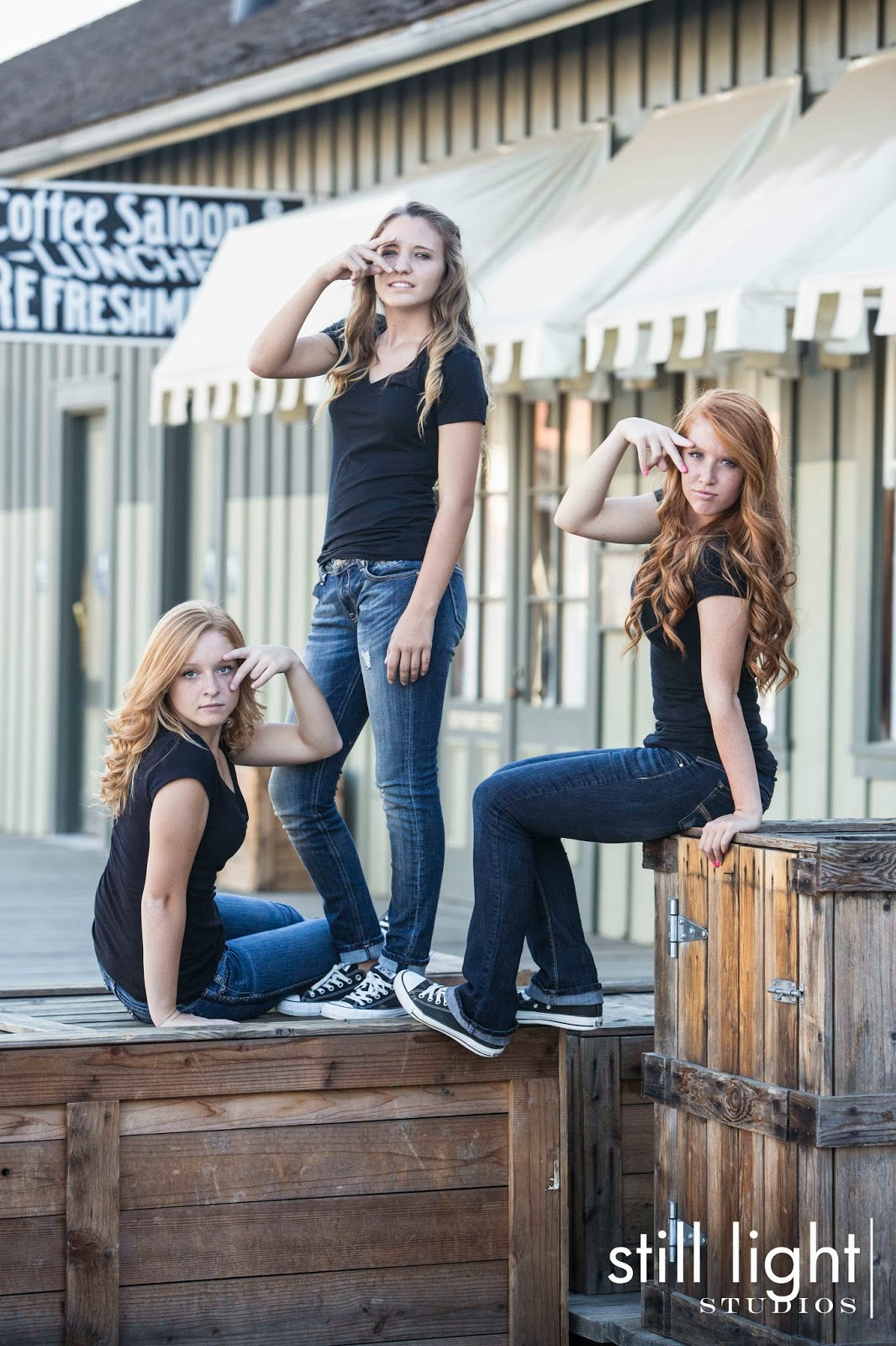 Lincoln High School Senior Portraits Photography by Still Light Studios