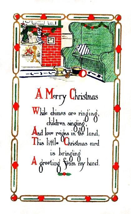 Nothing But Limericks: Merry Christmas Children's Limerick