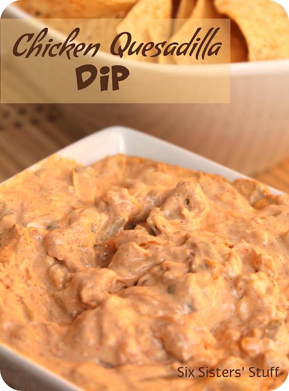 Chicken Quesadilla Dip Recipe & Silhouette CAMEO Bundle Winner! | Six ...