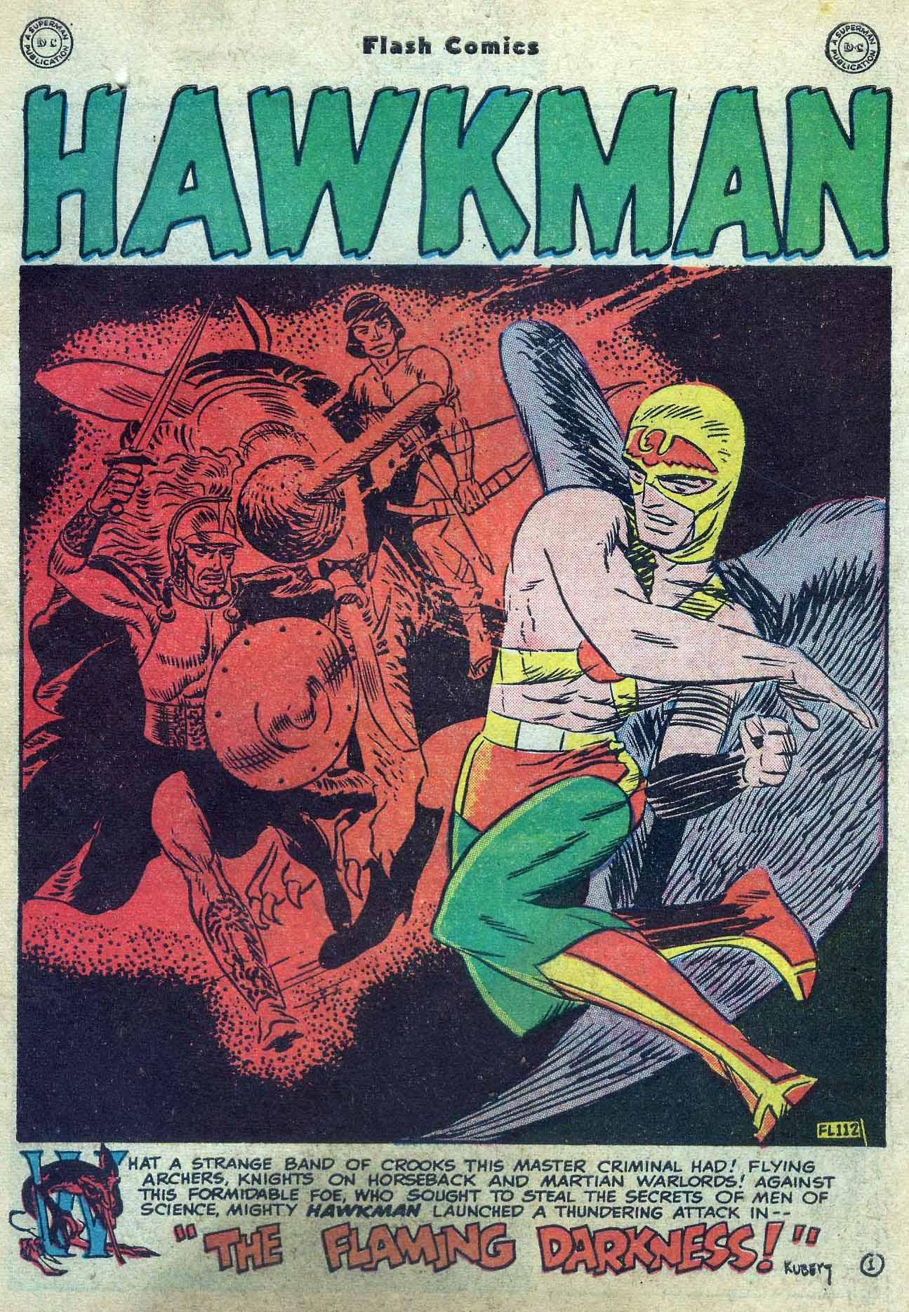 Flash Comics Issue #104 #104 - English 3
