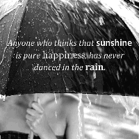 love quotes about raining