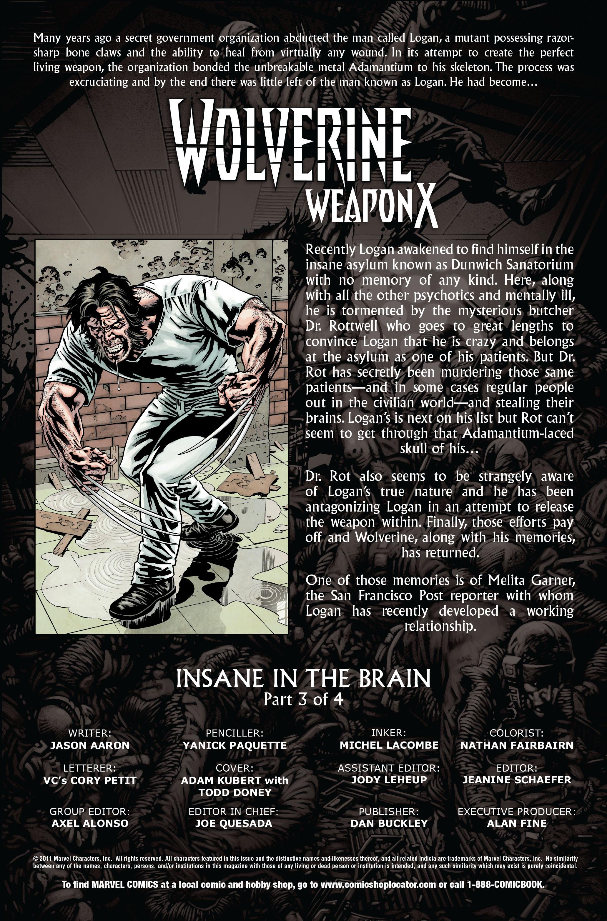 Wolverine: Weapon X #8 #9 - English 2