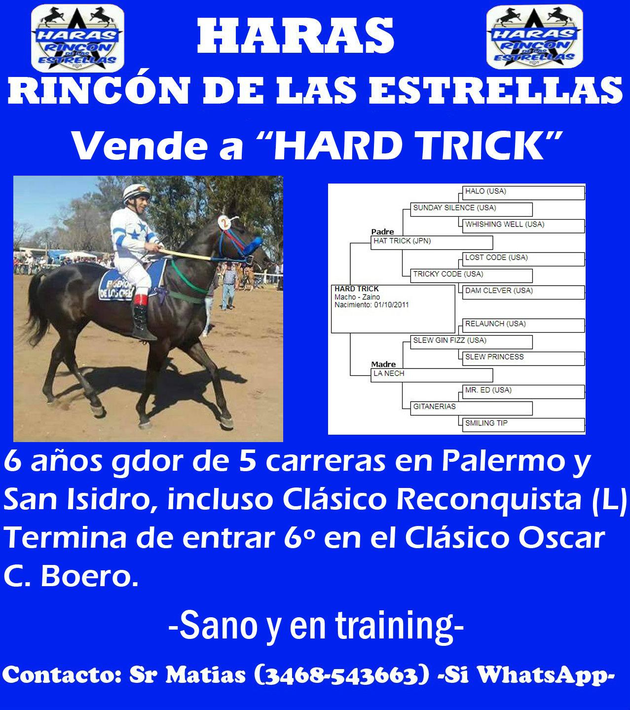 RINC ESTRELLAS HARD TRICK