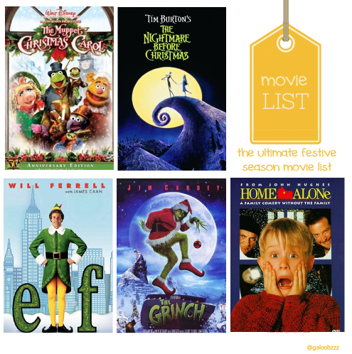 the ultimate list of festive season movies