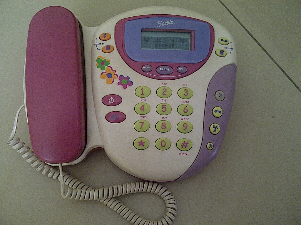Barbie Toy Phone : Special toys shop barbie answering machine phone