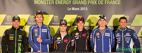 Hasil Free Practice 1 2 3 4 MotoGP Le Mans Prancis 2013