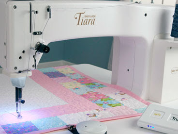 Sit-down long-arm Quilting Machines