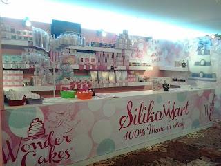 cake design italian festival - milano malpensa - silikomart