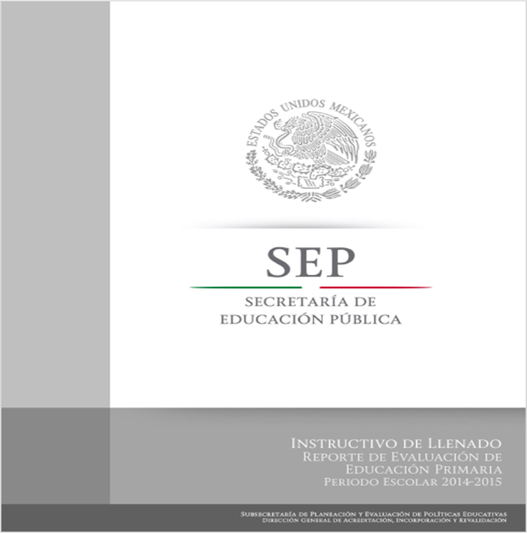 Descargar Instructivo de llenado de los Reportes de Evaluación 2014