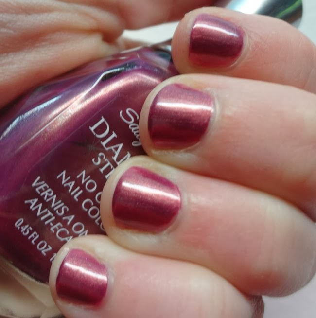 Sally Hansen Diamond Strength Royal Romance nail polish