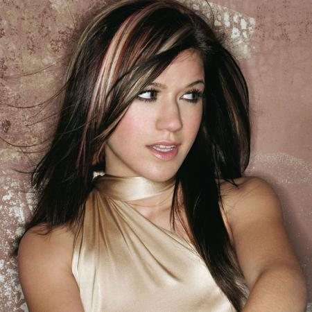 Hair Style Medium, Celebrity Hollywood Kelly Clarkson