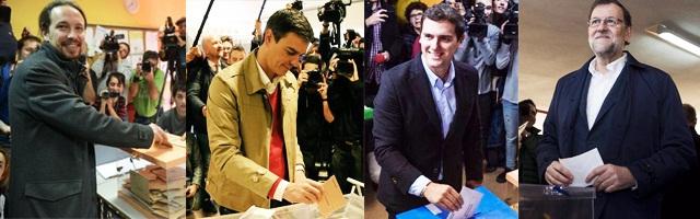 Cambio político en España 2015