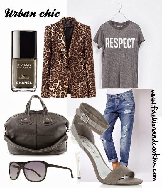 Urban chic look set, Givenchy Nightingale, Zara blazer, Fashion and Cookies