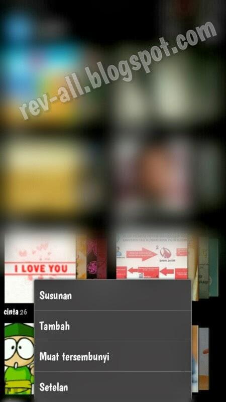 Menu QuickPic - aplikasi galeri alternatif untuk perangkat Android (rev-all.blogspot.com)