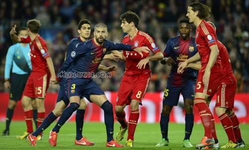 Skor Akhir Barcelona VS Bayern Munchen 2013