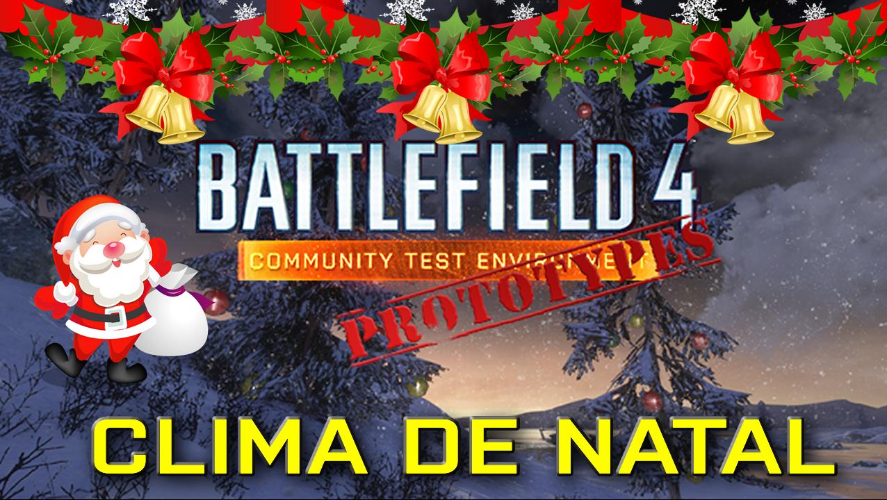 Battlefield 4 CTE entra no clima de Natal