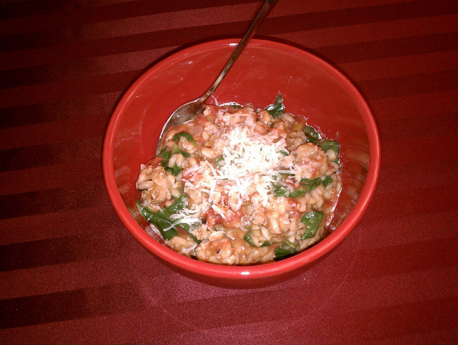 Colleen's Kitchen Therapy: Tomato and Sausage Risotto