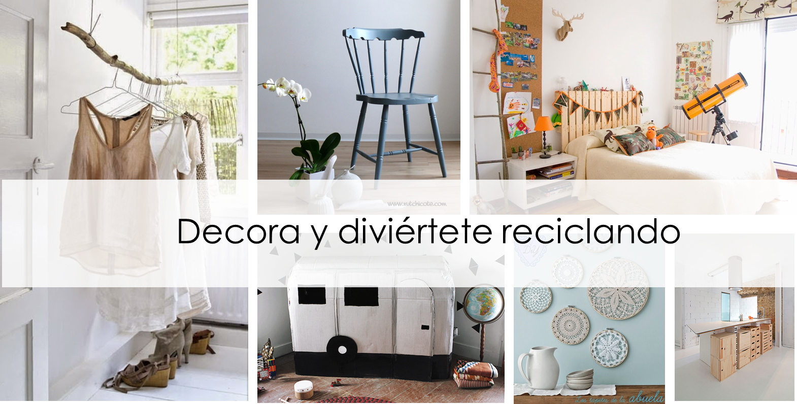 Decorar reciclando objetos reciclar tubos pvc with for Ideas para decorar reciclando