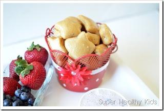 Patriotic Dessert Recipe Picks: Star Spangled Pretzel Bites & Fruit Dip
