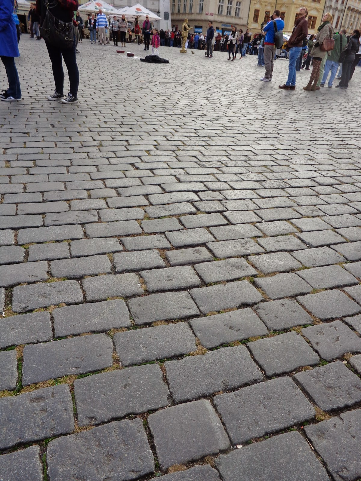 Cobbled street, Old Town, Prague