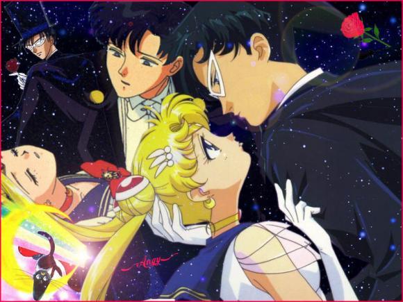 Galeria de Sailor Moon SailorMoonTuxedoMask