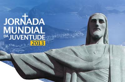No ar o site oficial Jornada Mundial da Juventude 2013.