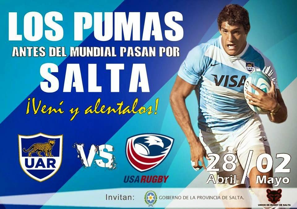 """""""Los Pumas vuelven a Salta"""""""