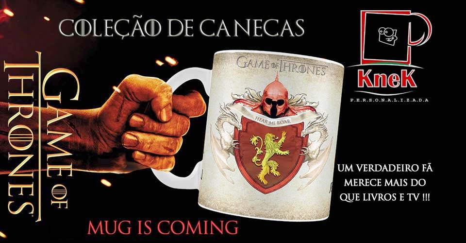 canecas game of thrones