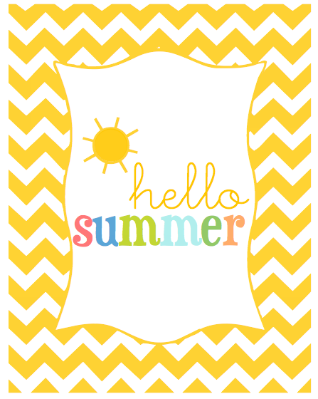Hello Summer Download | Monika Wright
