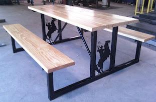 Mesa para jardín