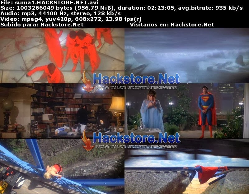 Captura Superman: La Pelicula (1978) DVDRip Latino