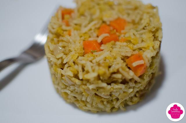 Kitchari (riz aux lentilles) aux légumes d'hiver au curry