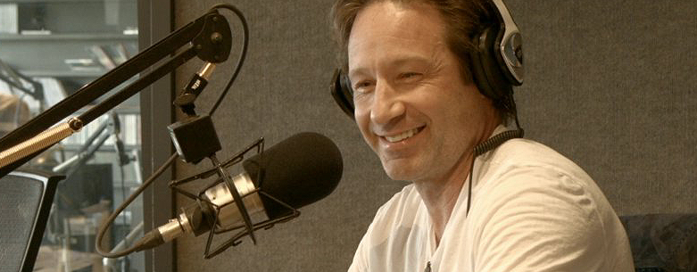 David Duchovny On Radio Kiss 108 Fm X Files