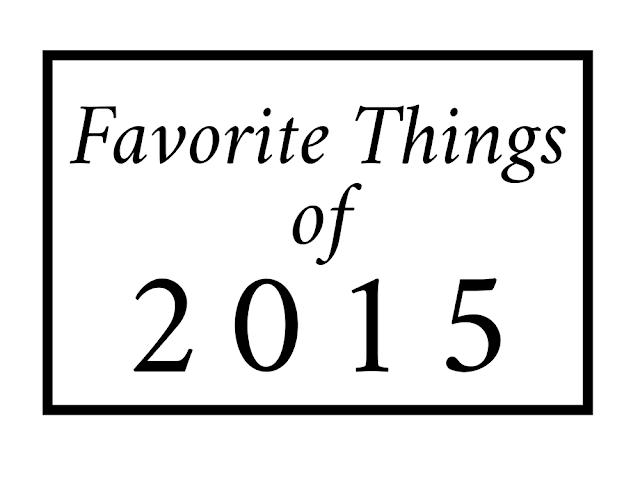Favorite Things Of 2015 || Blogmas