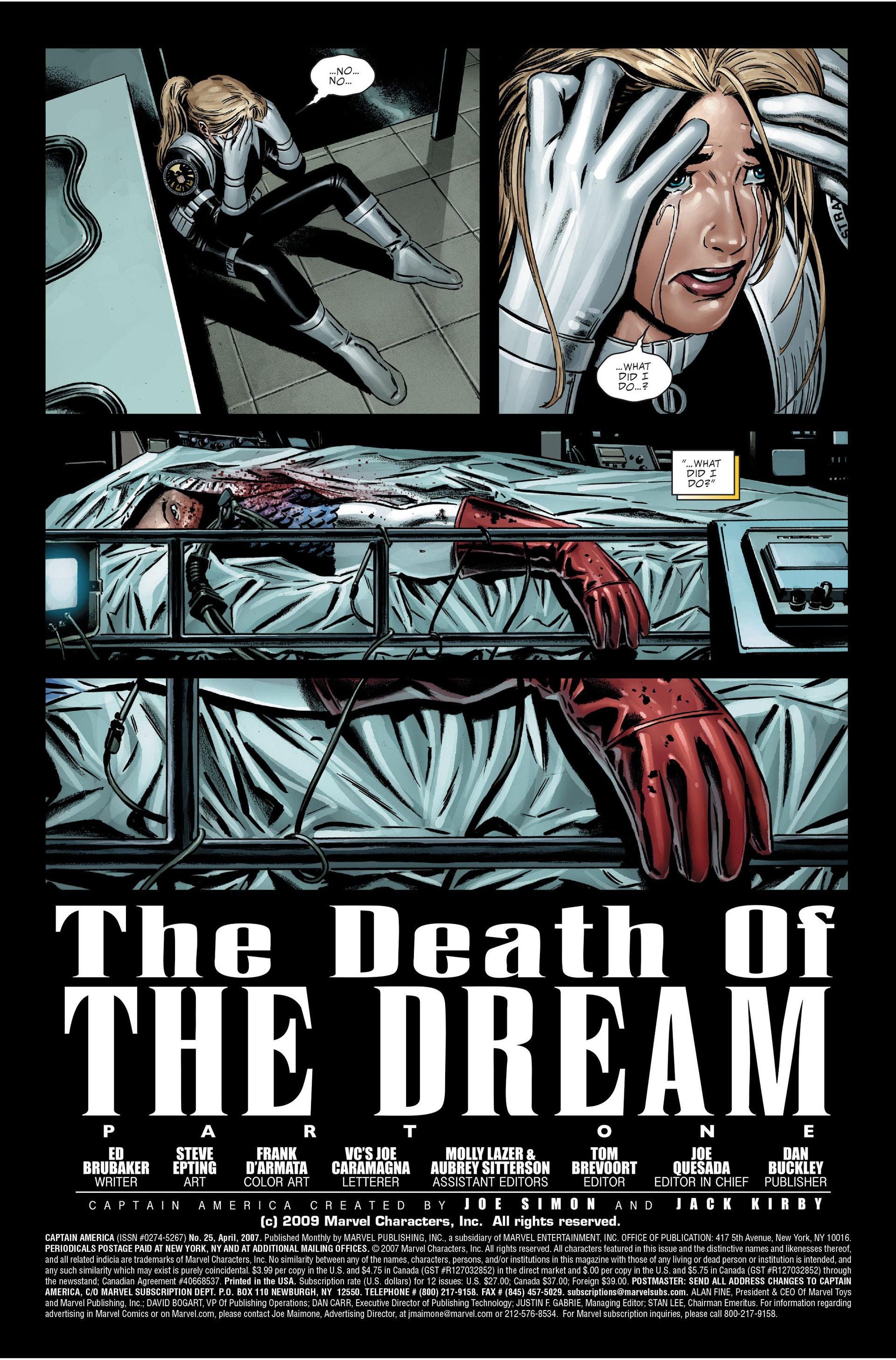Captain America (2005) Issue #25 #25 - English 34
