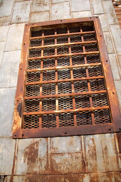 mesh grate window
