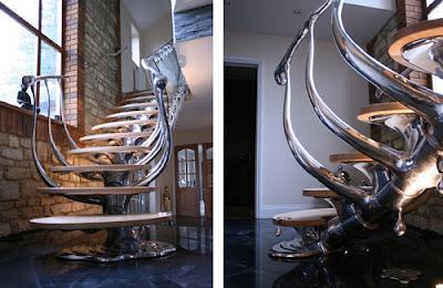 escalera interior moderna