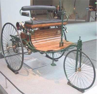 Primeros coches con marcha atrás